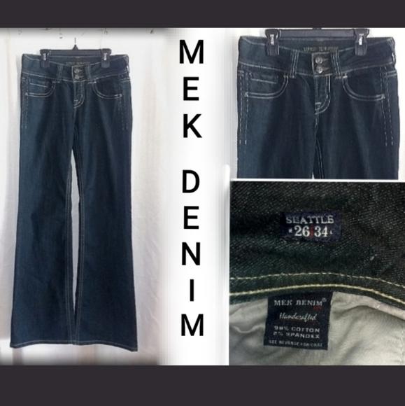 MEK Denim - *5 for $30* MEK DENIM SEATTLE WIDE LEG JEANS